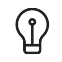 Light Bulb Idea Creative Idea Icon