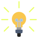 Light Bulb Household Appliances Technology Icon