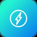 Lightining Power Bolt Icon