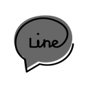 Line Social Media Chatting App Icon