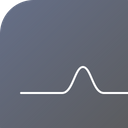 Line Electric Wave Icon
