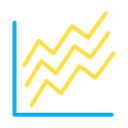 Line Scatter Icon