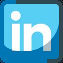 Linkedin Social Media Iconez Icon