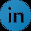 Linkedin Circle Social Media Logo Icon