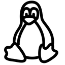Linux Technology Logo Social Media Logo Icon