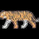 Lion Tiger Animal Icon