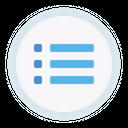 List Item Button Icon