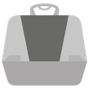Litter Box Outhouse Toilet Icon