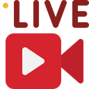 Live Streaming Live Video Broadcast Icon