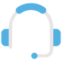 Live Support Support Headset Customer Support Icon