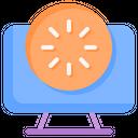 Load Circle Process Icon