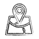 Location Map Social Icon