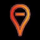 Location Minus Icon