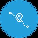 Location Navigation Pin Icon
