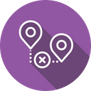 Location Path Way Icon