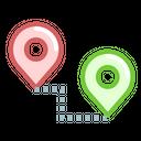 Location Path Way Icon