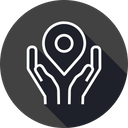 Location Pin Secure Icon