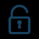 Lock Open Unlocked Icon