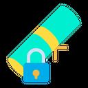 Lock Certificate Icon