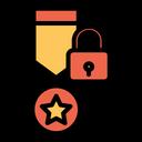 Lock Medal Icon