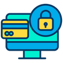 Lock Online Payment Icon