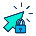 Lock Pointer Icon