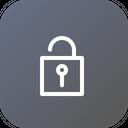Lock Unlock Theft Icon