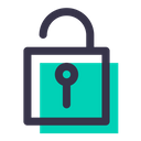 Lock Unlock Theft Icon