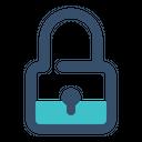 Locked Lock On Icon