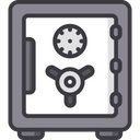 Locker Vault Safety Icon