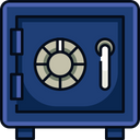 Safe Box Locker Bank Locker Icon