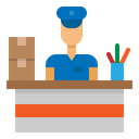 Reception Delivery Logistic Icon