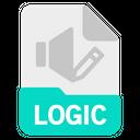 Logic File Document Icon