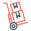 Logistic Delivery Shipping Icon