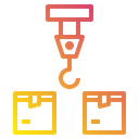 Logistics Crane Icon