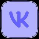 Logo Brand Vk Alt Icon