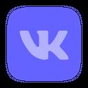 Logo Brand Vk Icon
