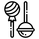 Lolipop Candy Dessert Icon