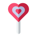 Love Lolipop Love Valentine Icon