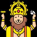 Lord Narsimha Icon