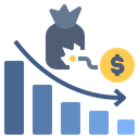 Loss Debt Loan Icon
