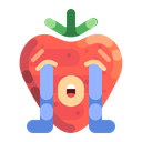 Loudly Crying Strawberry Crying Icon