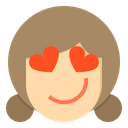 Love Emotion Face Icon