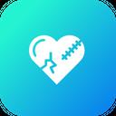 Love Heart Break Icon