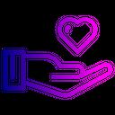 Love Heart Care Icon
