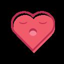 Love Heart Face Icon