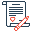 Love Letter Note Icon