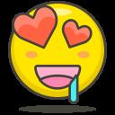 Love Heart Eye Icon