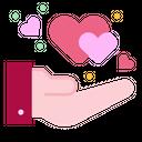 Donation Care Heart Icon