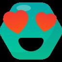 Love Emotion Emoji Icon